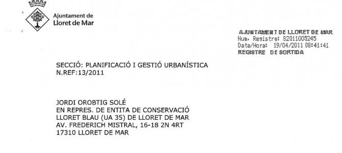 Enllumenat públic: Acord de la Junta de Govern Local
