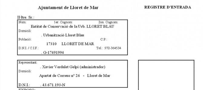 Registre d'ENTRADA a l'Ajuntament (P.650-1)