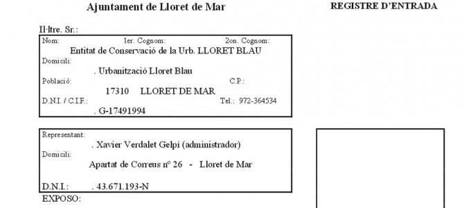 Registre d'ENTRADA a l'Ajuntament (P.650-2)