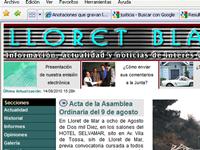 Nueva web de Lloret Blau